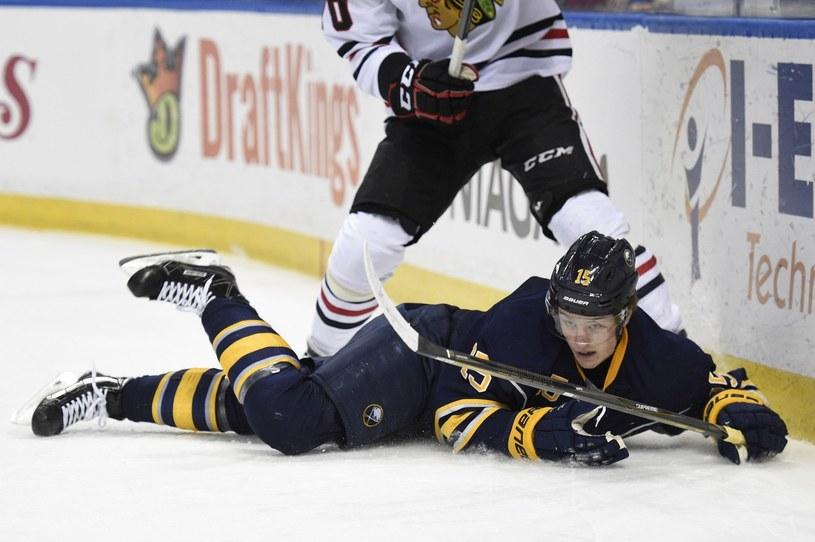 Jack Eichel z Buffalo Sabres /AFP
