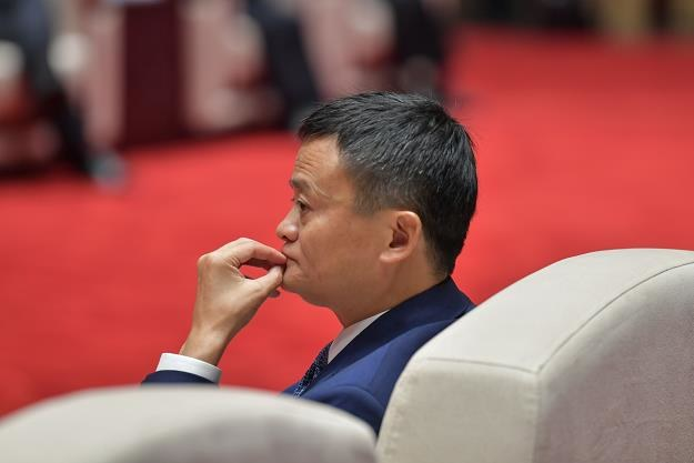 Jack Ma, prezes Alibaby /fot. STR/AFP/China OUT /AFP