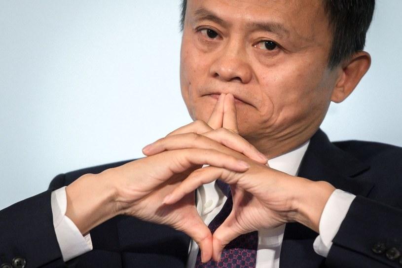 Jack Ma, założyciel AliExpress, nie pokazuje się od miesięcy /AFP