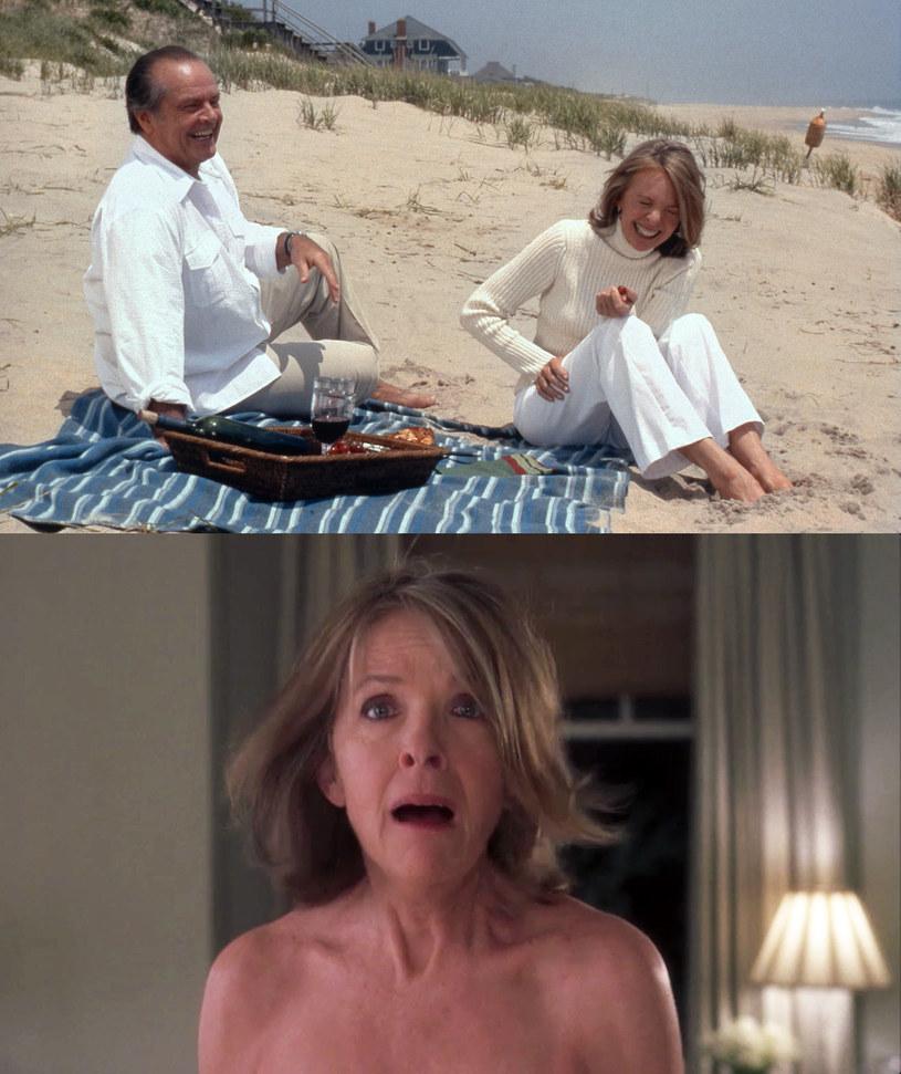 """Jack Nicholson i Diane Keaton przekonują się, że """"Lepiej późno niż później"""" /AKPA"""