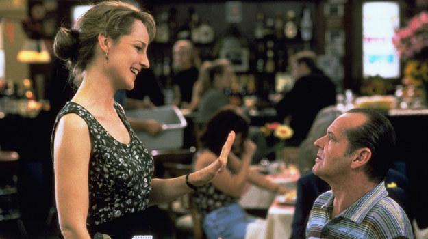 """Jack Nicholson i Helen Hunt w produkcji """"Lepiej być nie może"""" /fot  /Polsat"""