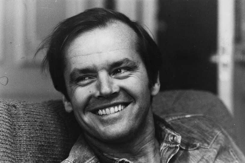 Jack Nicholson w młodości /Roy Jones /Getty Images