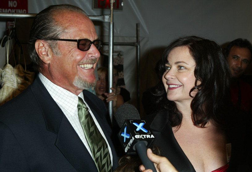 Jack Nicholson z córką Jennifer /Frazer Harrison /Getty Images