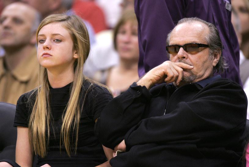 Jack Nicholson z córką Lorraine /Vince Bucci /Getty Images