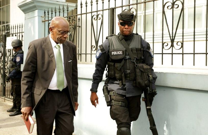 Jack Warner (z lewej) /AFP