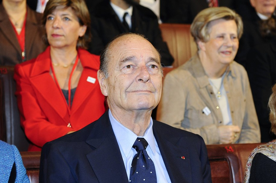 Jacques Chirac został w 2011 r. skazany na dwa lata więzienia w zawieszeniu. /PAP/DPA /PAP