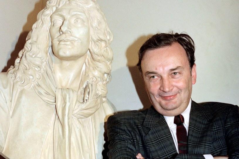Jacques Lassalle w 1990 roku /AFP