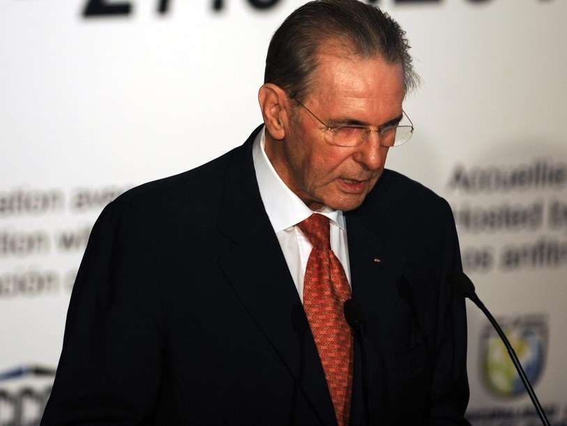 Jacques Rogge /AFP