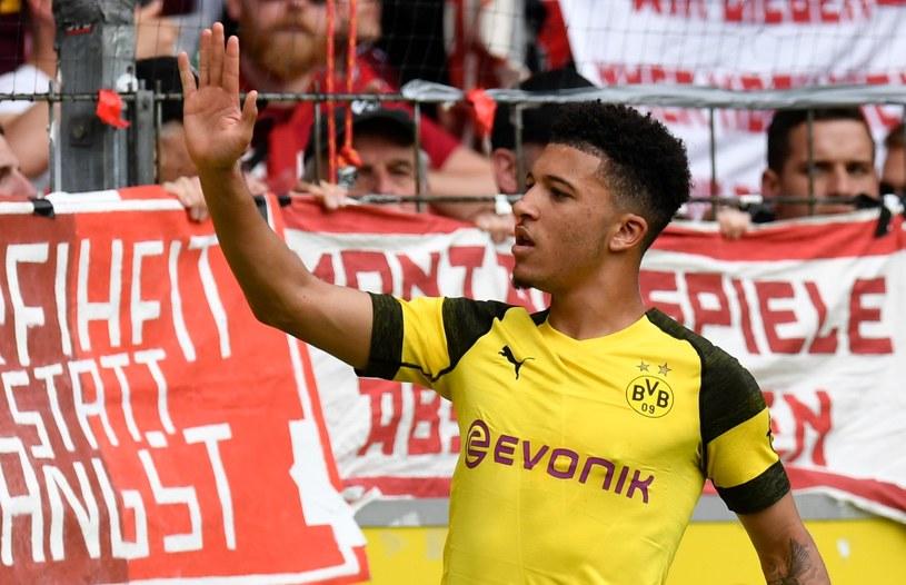 Jadon Sancho. Jak długo jeszcze pogra w Borussii Dortmund? /AFP