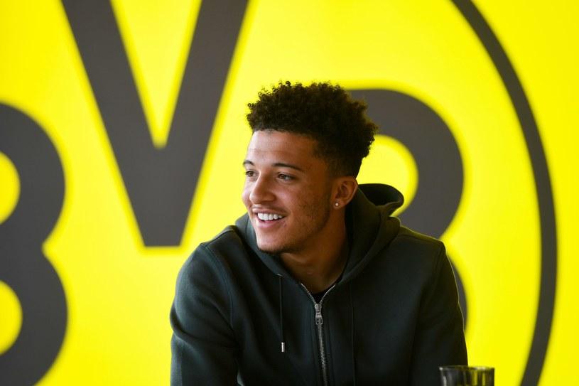 Jadon Sancho z Borussii Dortmund /AFP