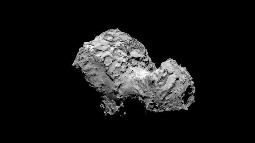 Jądro komety 67P w 40 proc. składa się ze związków organicznych /materiały prasowe