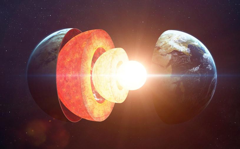 Jądro Ziemi zestaliło się między 1 a 1,3 mld lat temu /123RF/PICSEL