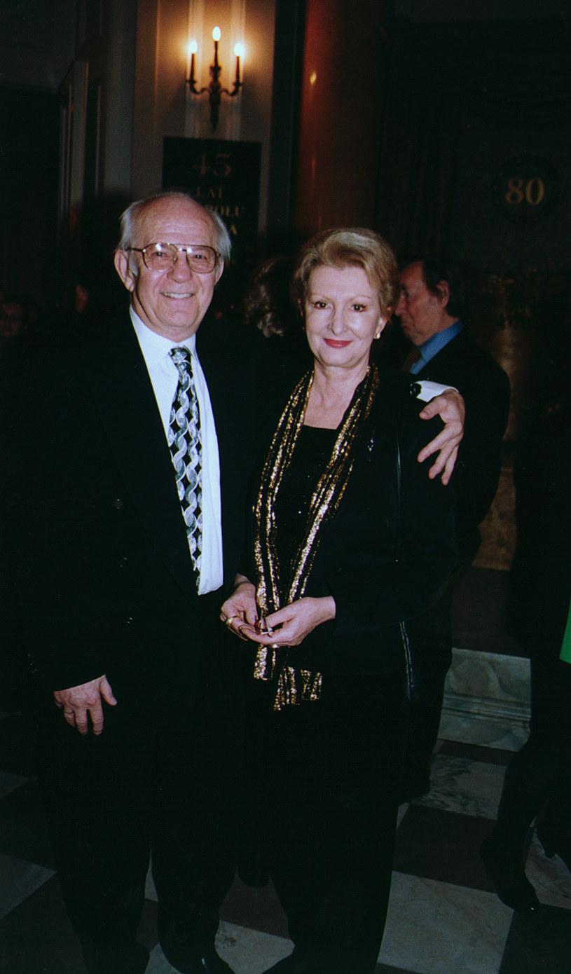 Jadwiga Barańska i Jerzy Antczak /Mikulski /AKPA