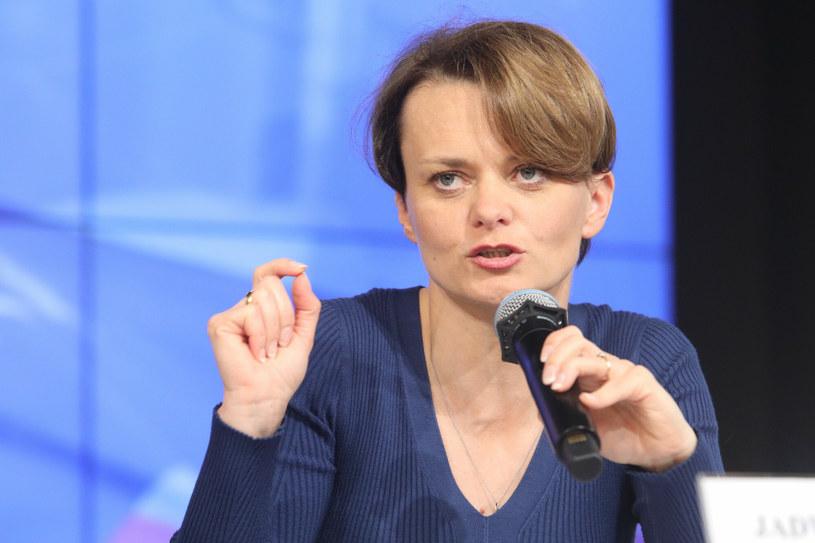 Jadwiga Emilewicz, b. wicepremier i minister rozwoju, posłanka na Sejm /Tomasz Jastrzębowski /Reporter