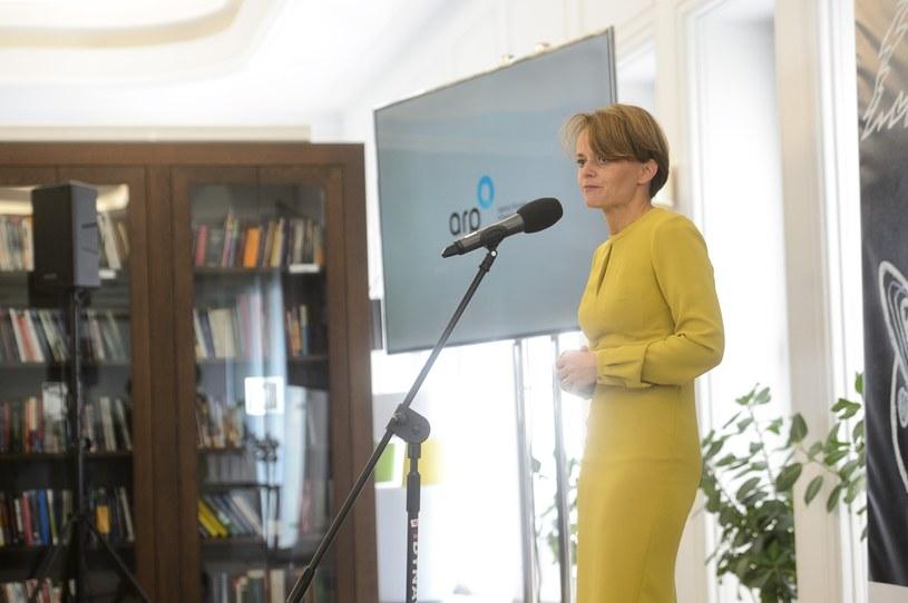 Jadwiga Emilewicz., minister przedsiębiorczości i technologii. Fot. Zbyszek Kaczmarek/REPORTER /Reporter