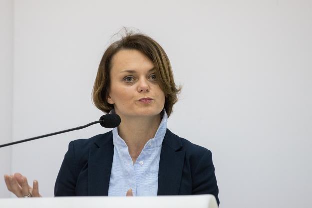 Jadwiga Emilewicz, minister przedsiębiorczości i technologii. Fot. Paweł Wiśniewski /Agencja SE/East News