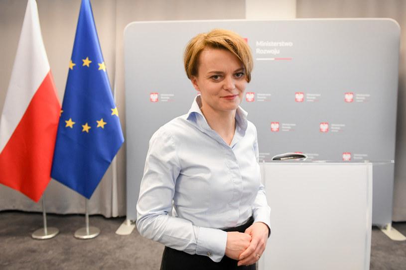 Jadwiga Emilewicz, minister rozwoju / Jacek Domiński /Reporter