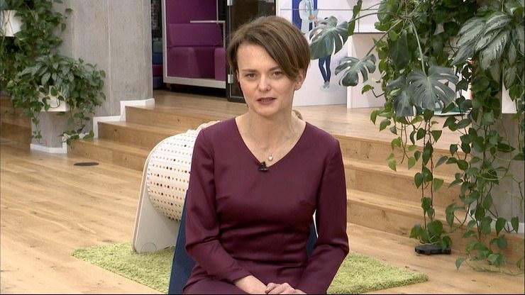 """Jadwiga Emilewicz w """"Gościu Wydarzeń"""" /Polsat News"""