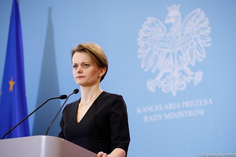 Jadwiga Emilewicz, wicepremier i minister rozwoju. Źródło: KPRM /materiały prasowe