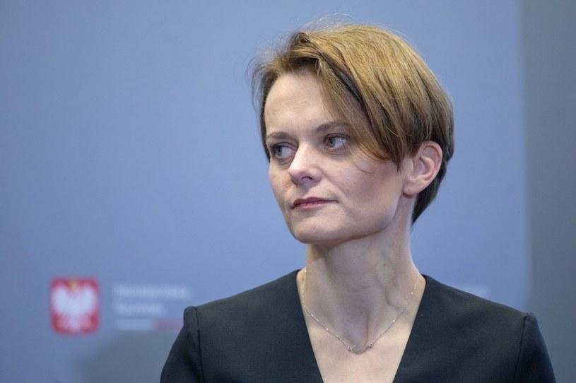 Jadwiga Emilewicz, wicepremier i minister rozwoju. /Feliks Herauf /Getty Images
