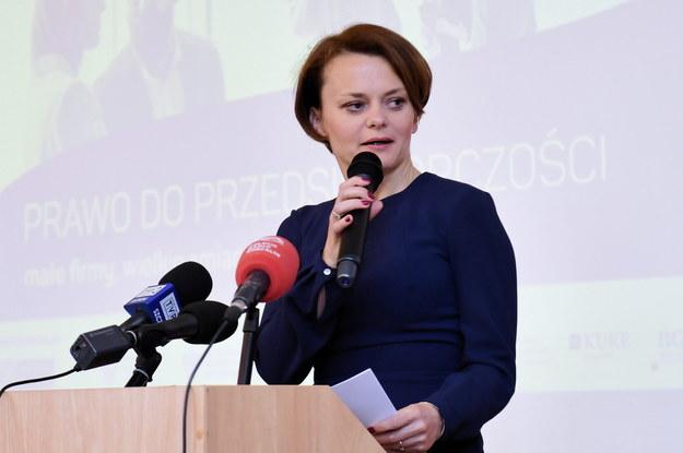 Jadwiga Emilewicz / Marcin Bielecki    /PAP