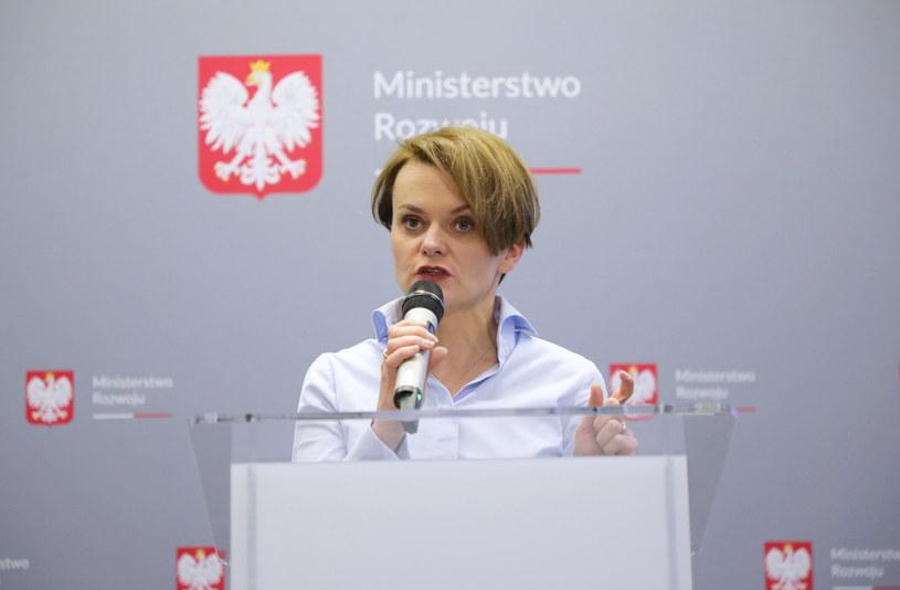 Jadwiga Emilewicz /Piotr Małecki /East News