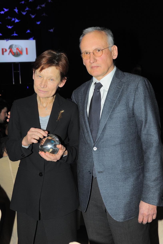 Jadwiga Jankowska-Cieślak z mężem, zdj. z 2012 roku /Michał Wargin /East News