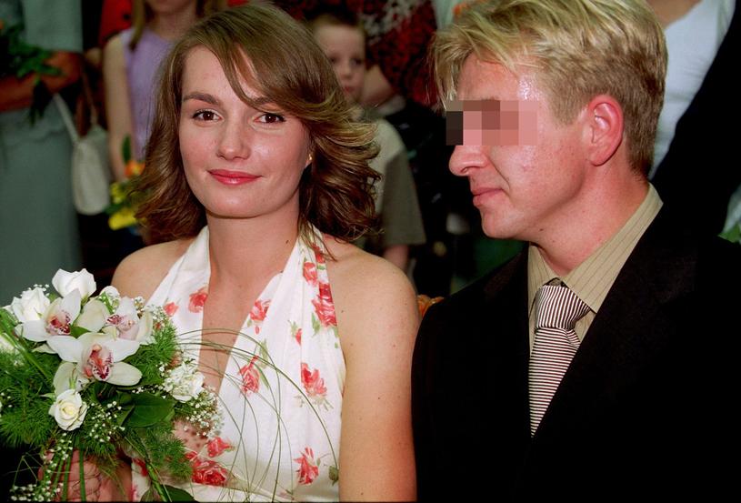 Jagna Marczułajtis z pierwszym mężem /Wojtek Stein /Reporter