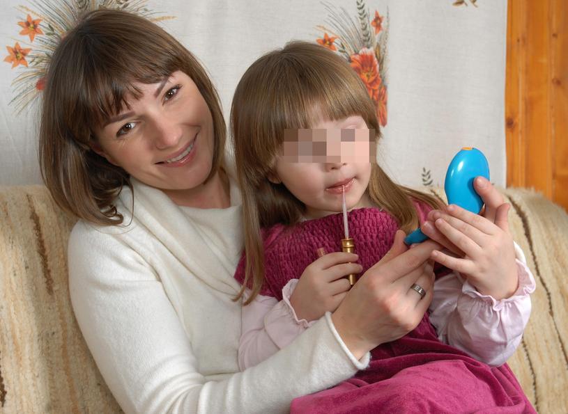 Jagna z córką / Leszek Szymański    /East News