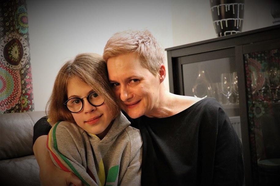 Jagoda Litner i jej mama Katarzyna Kapusta /Jacek Skóra, RMF FM
