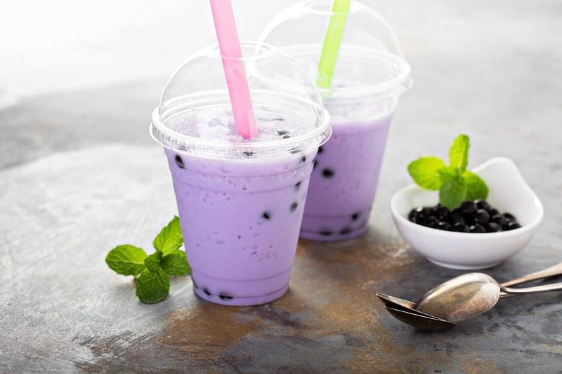 Jagodowe bubble tea /materiały prasowe