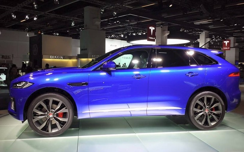 Jaguar F-Pace /INTERIA.PL