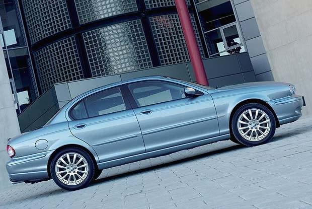 Jaguar X-Type (kliknij) /INTERIA.PL