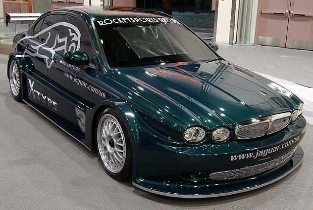 Jaguar X-type Racing Concept (kliknij) /INTERIA.PL