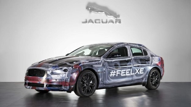 Jaguar XE - pierwsze zdjęcie /Jaguar