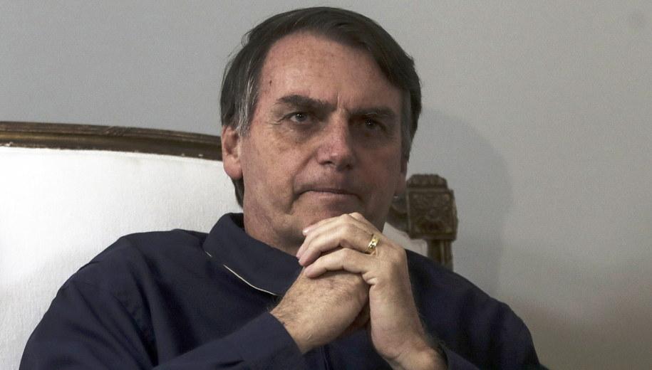 Jair Bolsonaro /Antonio Lacerda /PAP/EPA