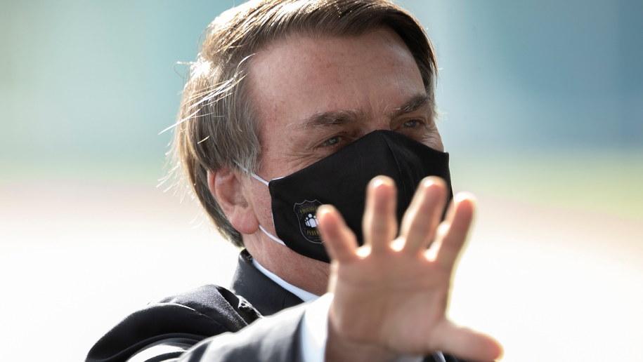 Jair Bolsonaro /Joedson Alves /PAP/EPA