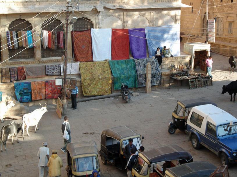 Jaisalmer: Indie to rzeczywiście kraina kolorów /Artur Wróblewski /INTERIA.PL