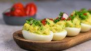 Jaja faszerowane pastą z awokado