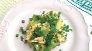 Jajecznica na zielono o smaku awokado