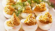 Jajka faszerowane oscypkiem