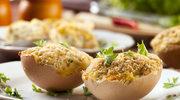 Jajka faszerowane prawdziwkami