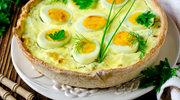 Jajka smakowicie zapieczone