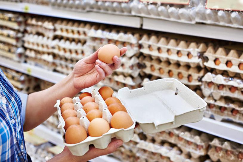 Jajka w sklepie /©123RF/PICSEL