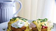 Jajka w sosie holenderskim