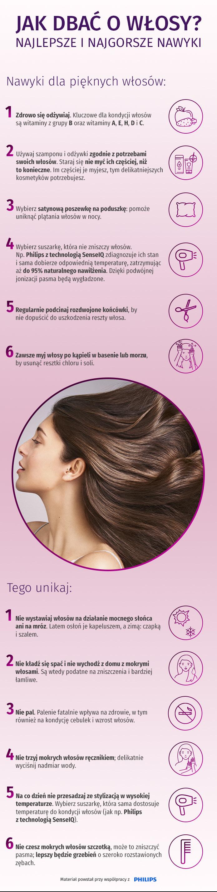 Jak dbać o piękne włosy /materiały promocyjne
