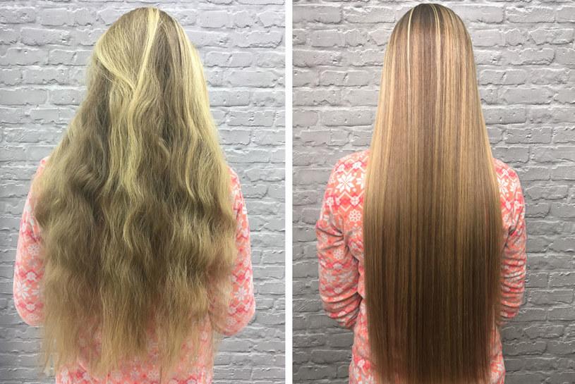 Jak dłużej cieszyć się prostymi włosami? /©123RF/PICSEL