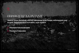 Jak dobrze znasz historię polskich powstań?  (cz. 1)