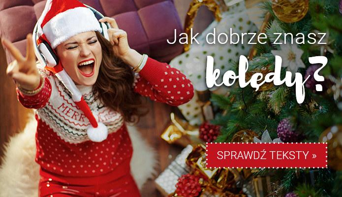 Jak dobrze znasz kolędy? Sprawdź tekst w serwisie Teksciory.pl! /INTERIA.PL