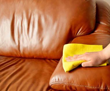 Jak domowym sposobem wyczyścić skórzaną sofę?